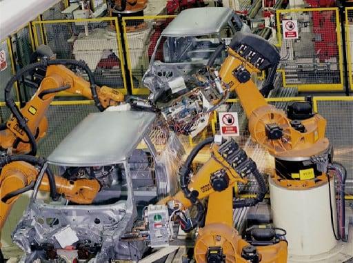 BMW Produktionshalle