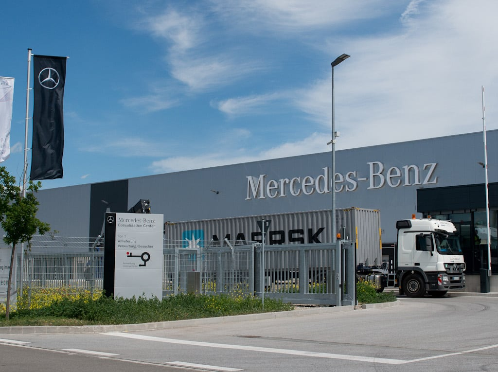 Daimler Hallenheizung