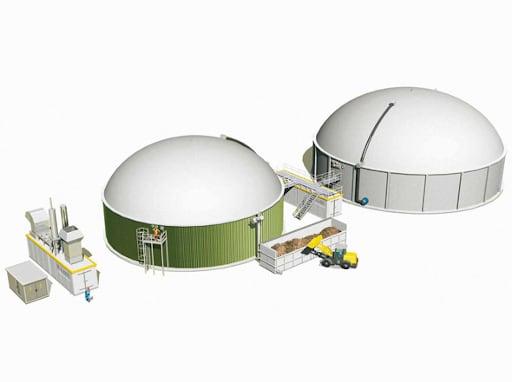 Biogasanlage Entsorga